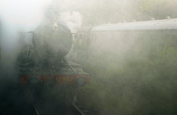 A steamy departure by Ffynnoncadno
