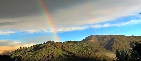 Santa Maria has rainbows by IamDora