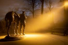 Romsey War Horse Sculpture