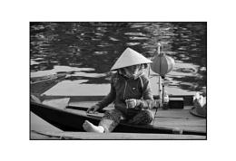 Vietnam boat lady