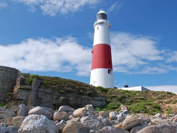 Portland Bill Lighthouse Dorset by harrywatson