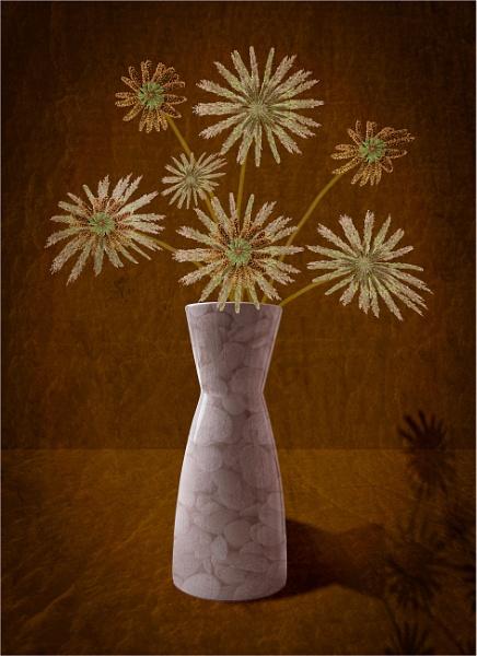 Grass flowers by Dixxipix