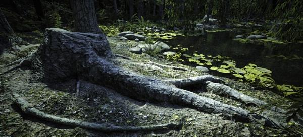 Pond World by RLF