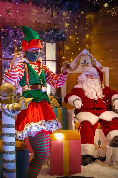 is santa wearing a mask? by tpfkapm