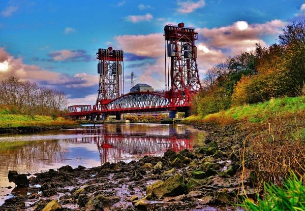 Newport Bridge Middlesbrough. by georgiepoolie