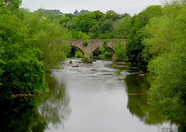River Usk by ddolfelin