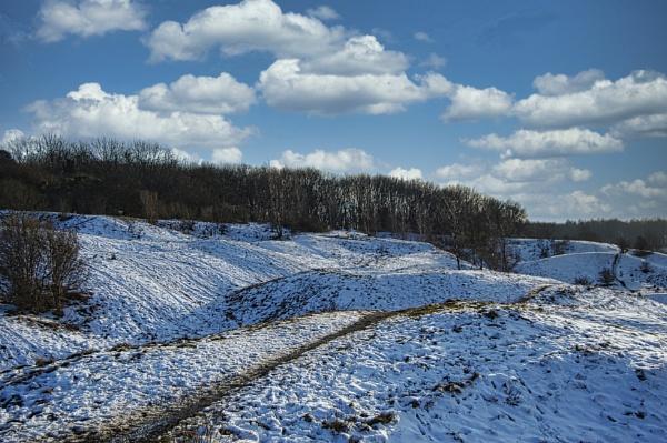 A Winter Scene by woodini254