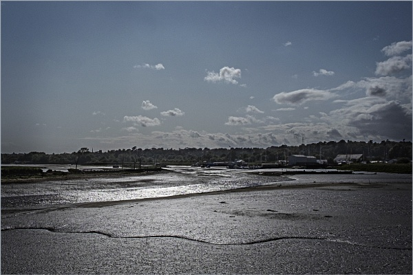 Tide\'s out on the River Deben by AlfieK