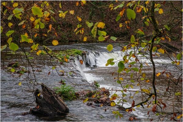The Weir in Autumn by Snaphappyannie