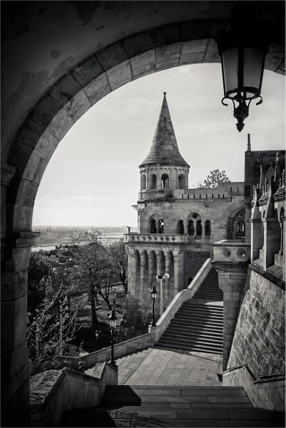Fisherman\'s Bastion, Budapest by KingBee