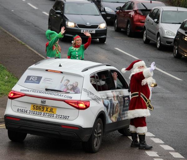 Santa\'s On His Way. by lifesnapper