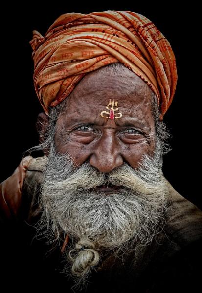 sadhu in Haridwar 2 by sawsengee
