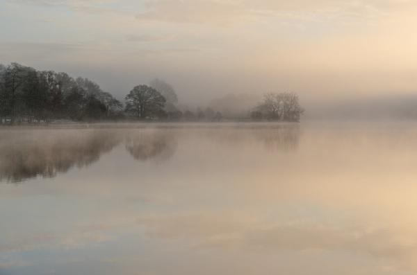 Misty Morning, Loch Achray by PaulHolloway