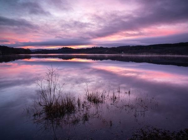Xmas sunrise by PaulHolloway