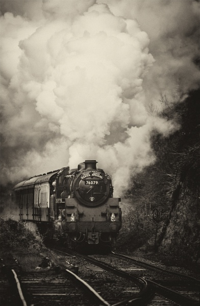 Full Steam ahead !! by rontear