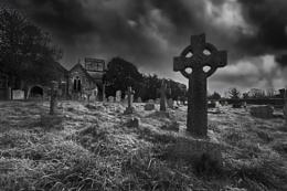 Fawley 12th Century Churchyard