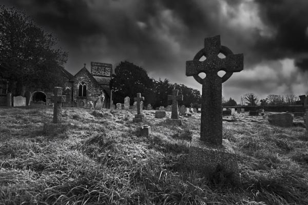 Fawley 12th Century Churchyard by esoxlucius