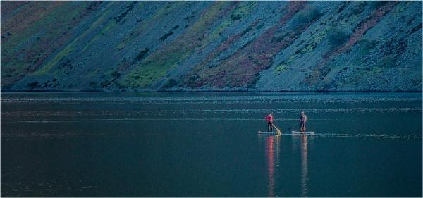 paddling at wastwater by judidicks