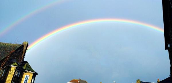 A rainbow in my street... by Chinga