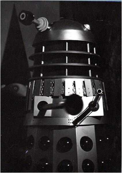 Dalek in the Shadows by johnriley1uk