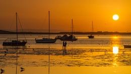 Sunset at Mudeford