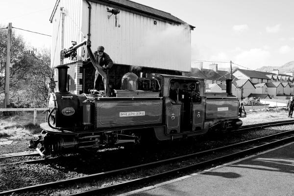 Festiniog Railway at Blaenau Ffestiniog by cegidfa