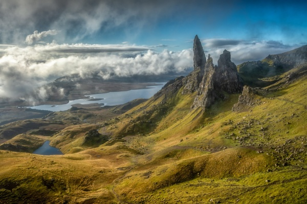 The Old Man Of Storr by Legend147
