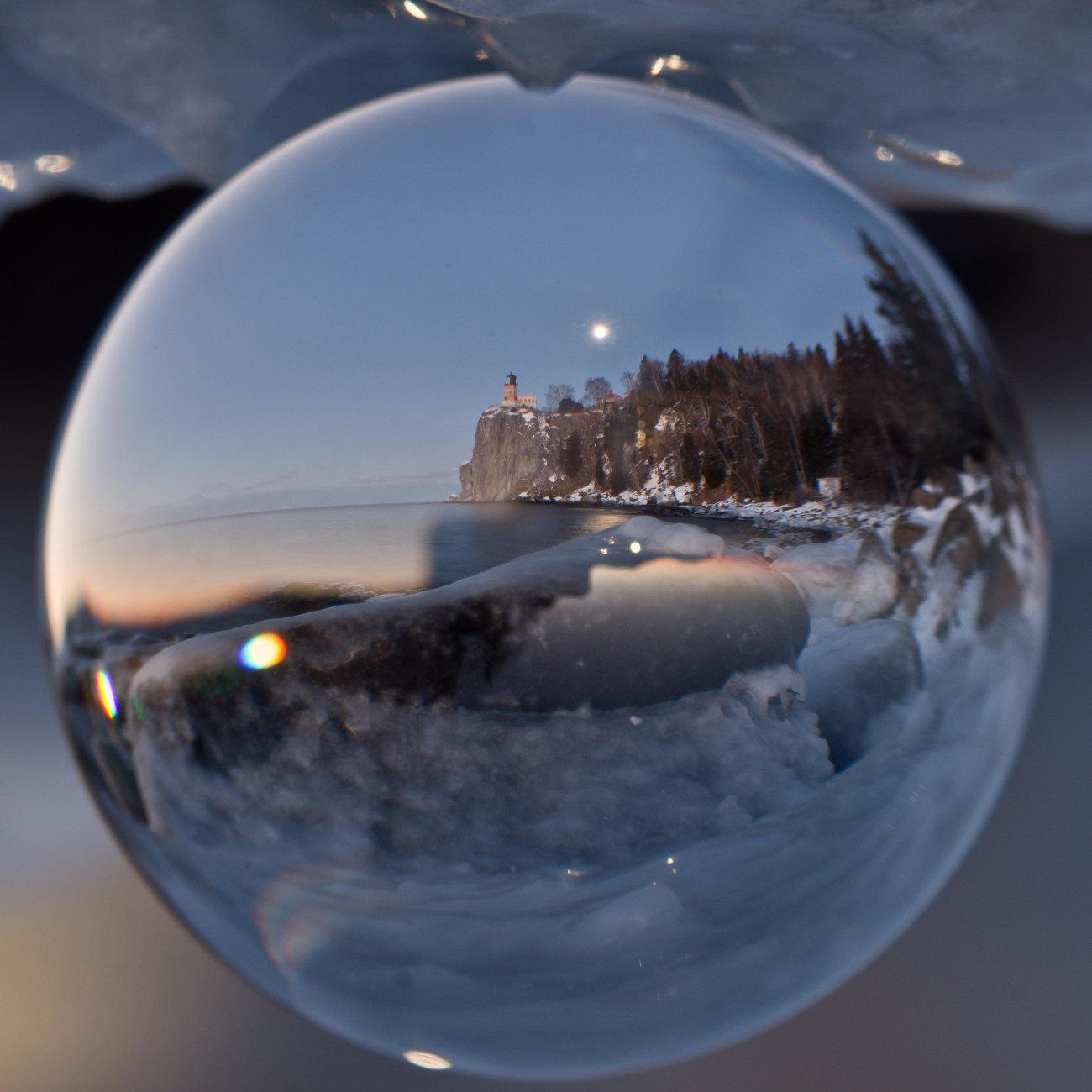 Crystal of Split Rock Lighthouse in Minnesota