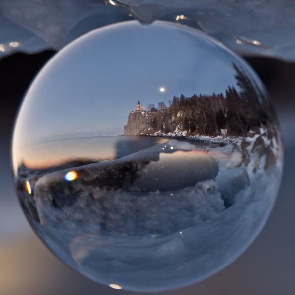 Crystal of Split Rock Lighthouse in Minnesota by jimbehm