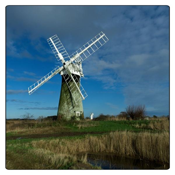 Norfolk windpump by Dwaller