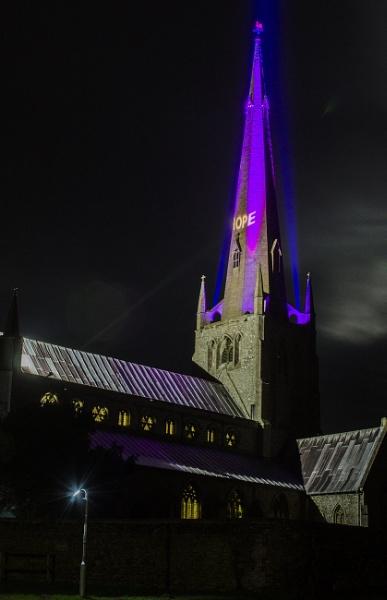 Snettisham Church by beetlejuice