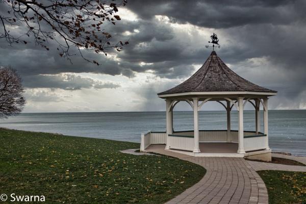 Gazebo at Niagara on the Lake by Swarnadip
