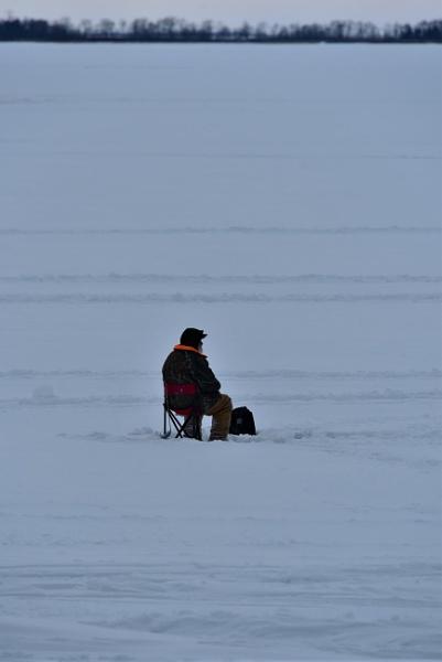 The lone fisherman by djh698