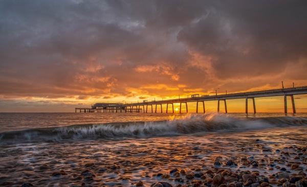 Deal Pier Sunrise by carper123