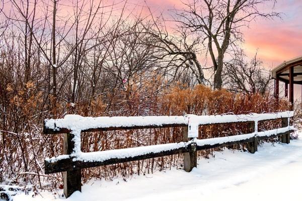 Winter scene by manicam