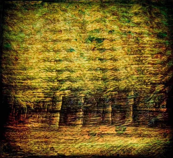 Blurry Forest by adagio