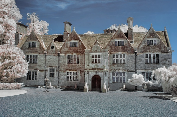 Lower Slaughter Hall- Cotswolds - Infrared by Adee