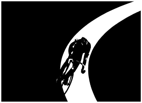 Cyclist by bobbyl