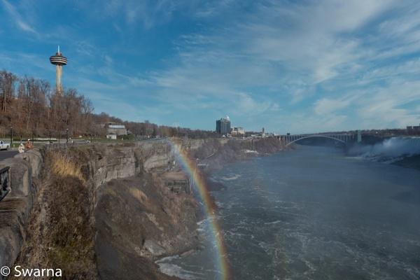Rainbow in Niagara... by Swarnadip