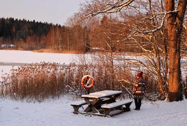 Winter - 1. by Jukka