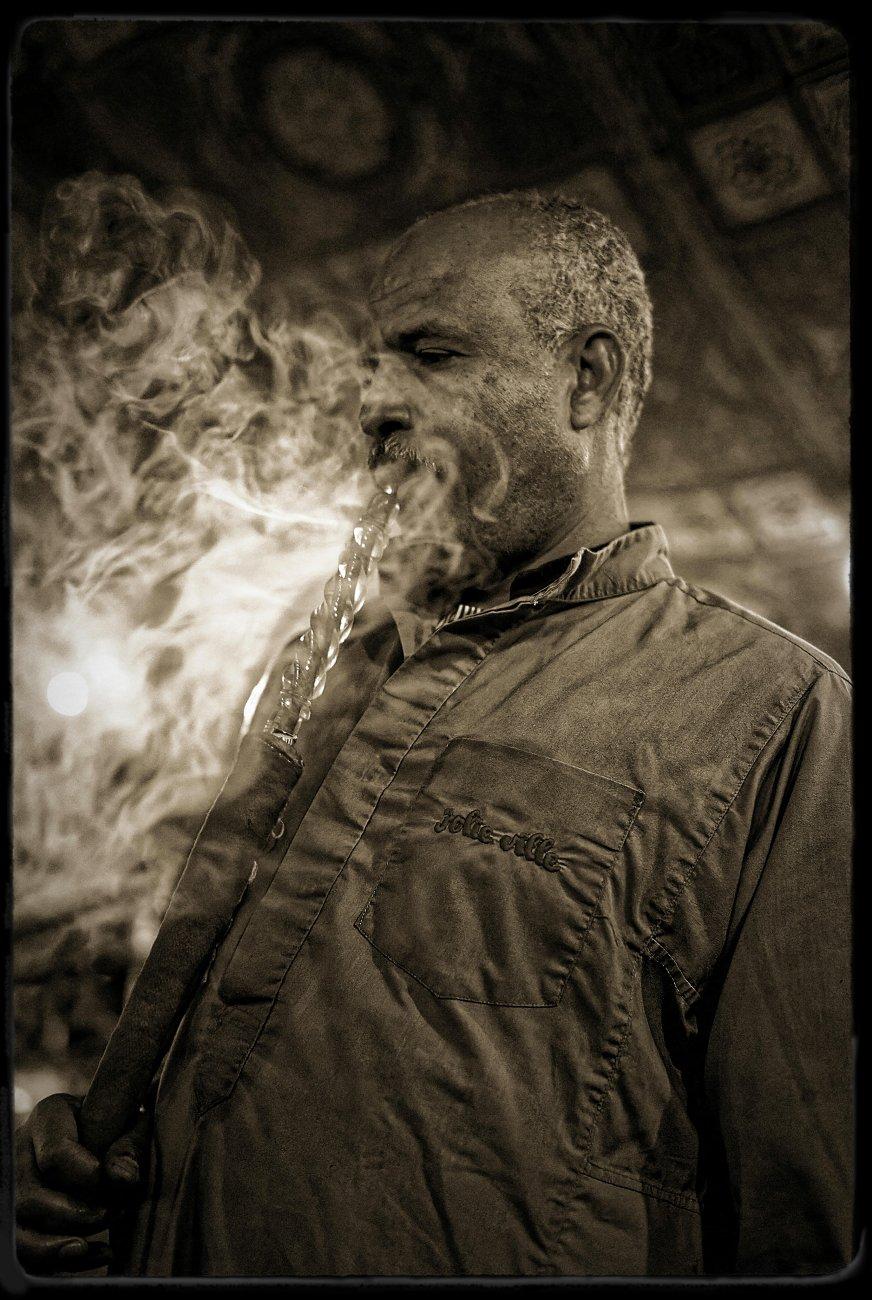 The smoking man!