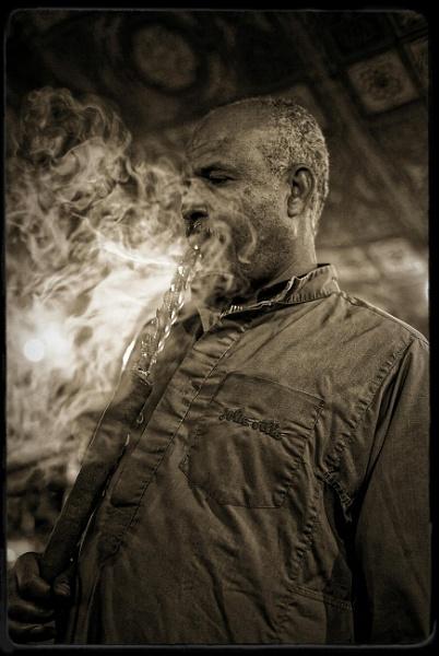 The smoking man! by pdunstan_Greymoon