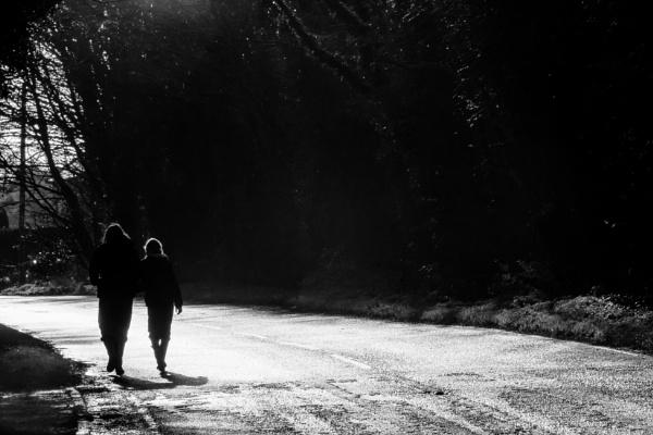 winter walk by mogobiker