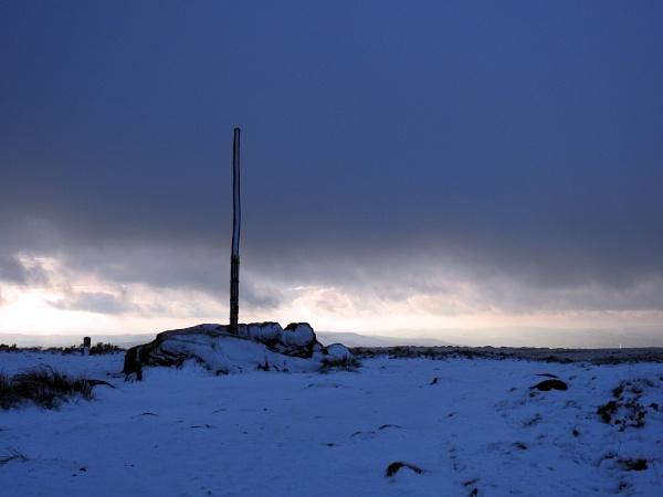 Stanage Pole 7th Jan 2021 by Alan26