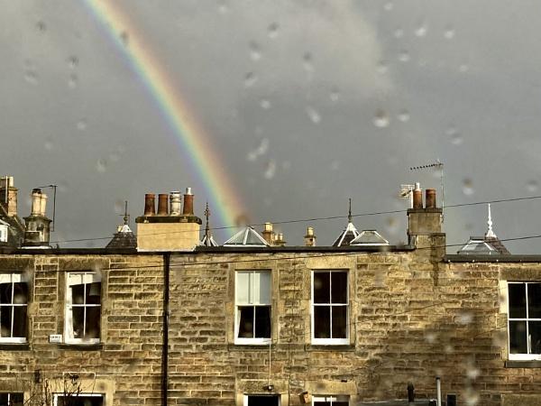 Rainy Rainbow. by Pinarellopete