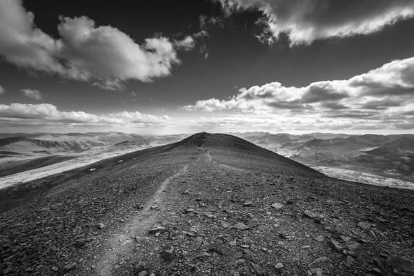 Skiddaw, on top of the World by Acancarter
