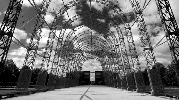 Airship Hangar by TheURL