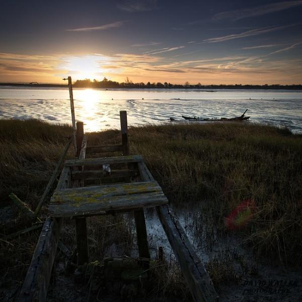 Maldon Sunrise by Dwaller