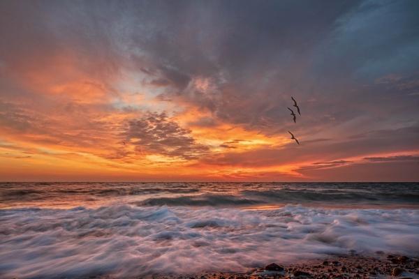 Deal Beach Sunrise by carper123