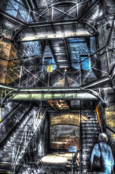 Old Melbourne Jail abstract - Digital Art